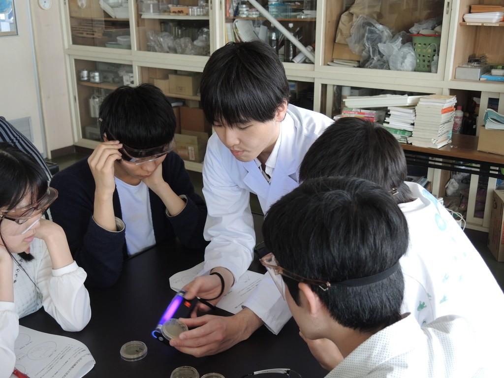 バイオテクノロジー学科】岩見沢...