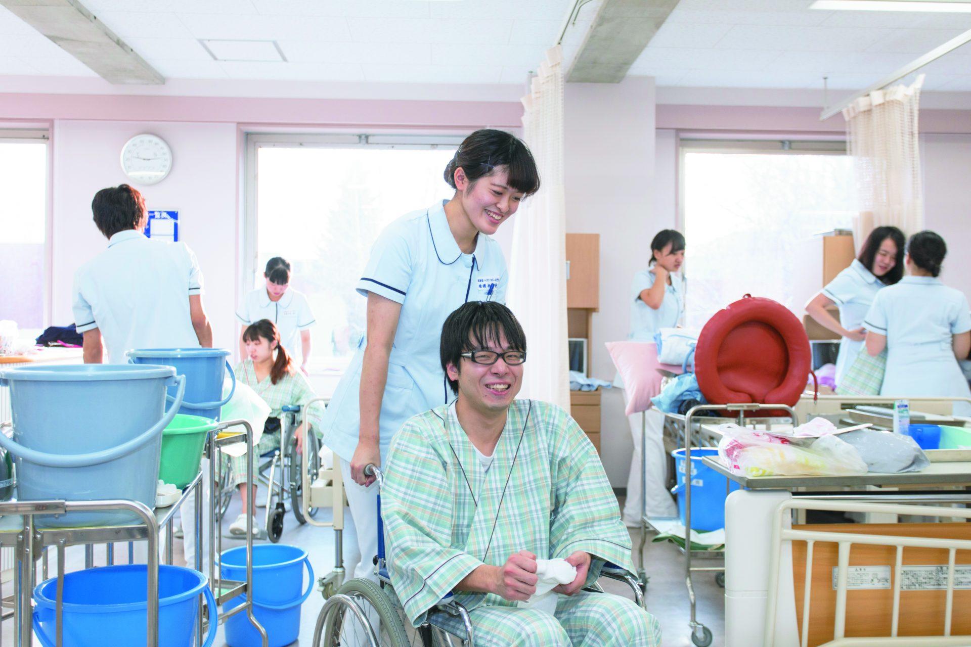 看護 車椅子